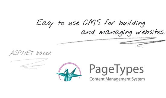 PageTypes CMS