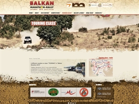 Balkan Marathon Rally - New website on PageTypes CMS
